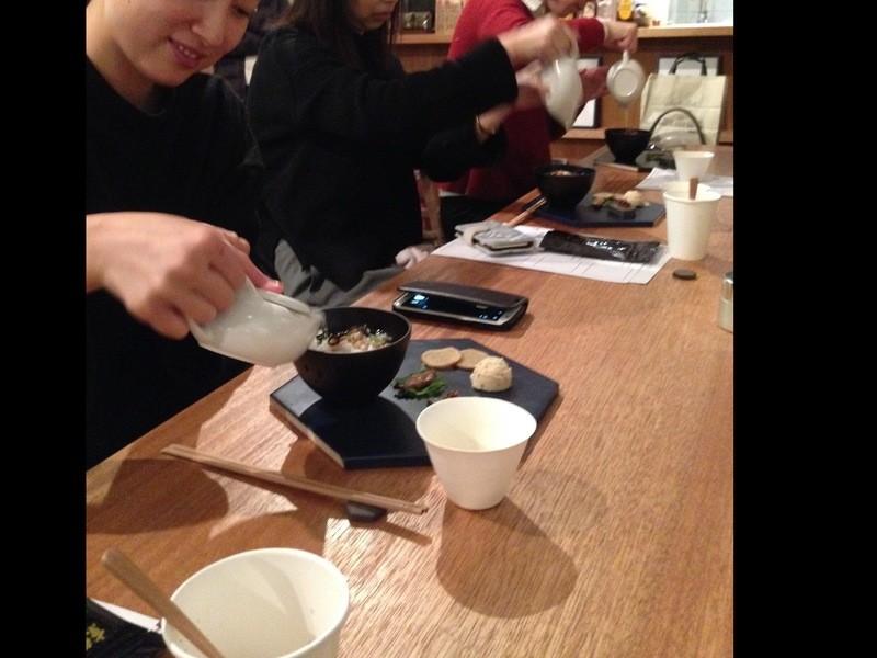 夏のお茶じかんを楽しむワークショップ「グラスあんみつと冷茶レシピ」の画像