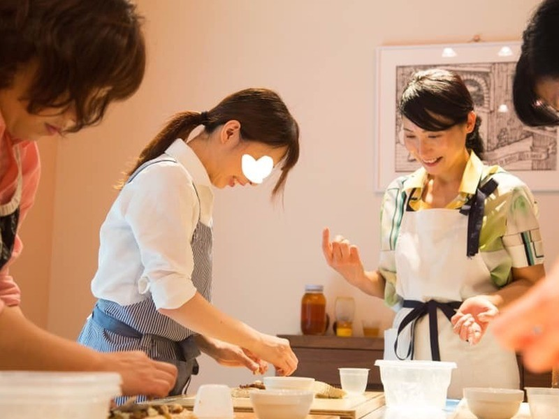 手作り柑橘酵母でベーグル&チョコマフィン作り の画像