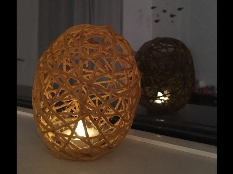 簡単に作れるランプシェードづくりの画像