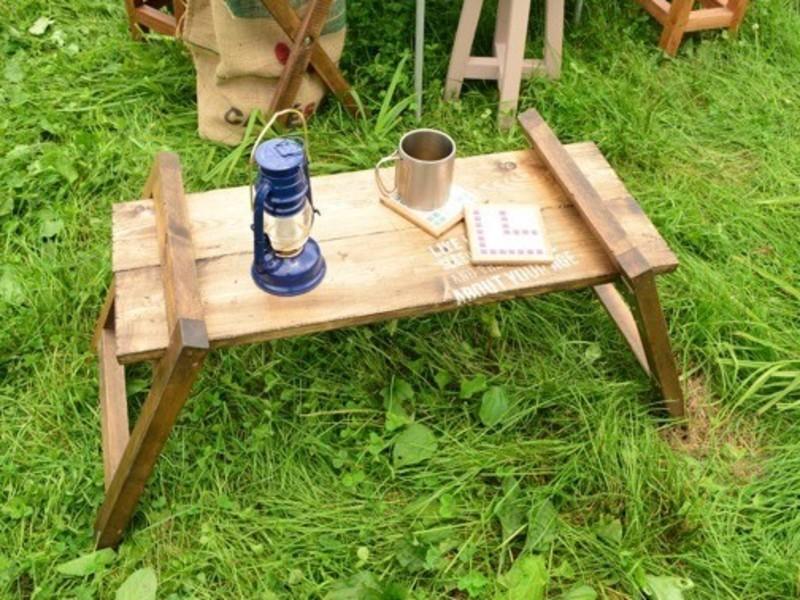 キャンプギアをDIY!①差し込み式2wayシェルフテーブルの画像