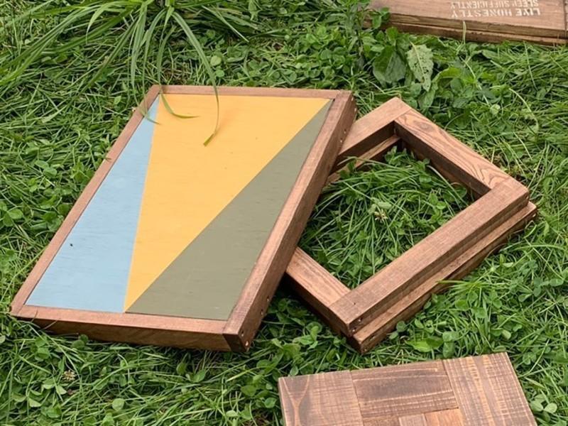 キャンプギアをDIY!④コンパクト収納サイドテーブルの画像