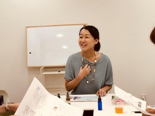 大阪|アロマdeセルフケア①頭すっきり手作りローション&ヘッドケアの画像