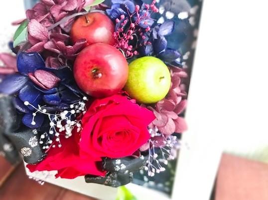 【大塚徒歩3分】実りの秋☆プリザーブドフラワーアレンジ〜手ぶらで◎の画像