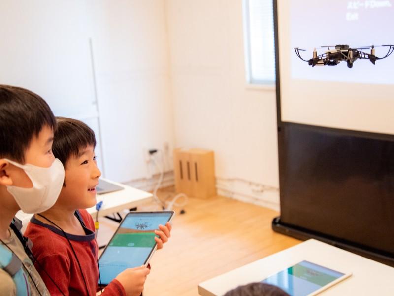 親も子もお台場でドローンを飛ばせる!小学生プログラミング体験もの画像