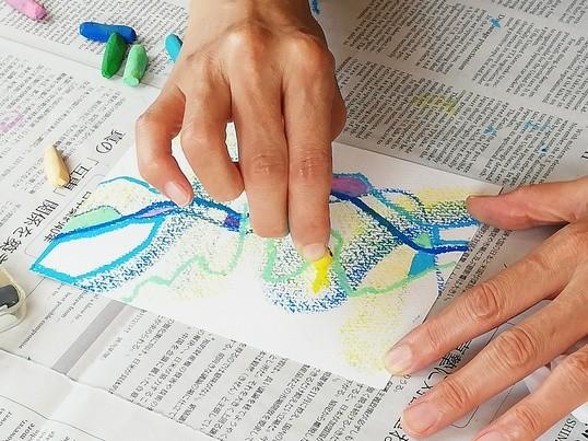 【少人数制】〜新しい自分に会える!大人のアート教室〜(別府クラス)の画像