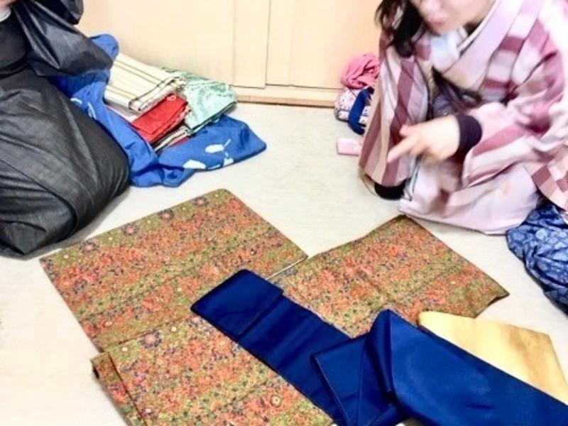 これから着物を始めたい方のための「きもの入門講座」着付け体験付の画像