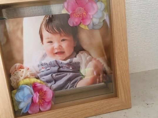 子連れさん大歓迎♡お好きなお花でDIY♡オリジナルフォトフレームの画像