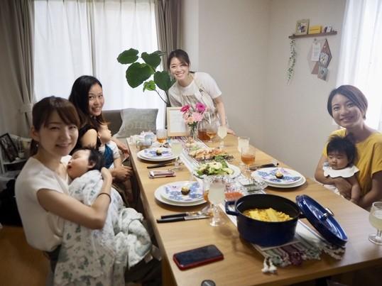子連れOK!ママ向け料理教室♡おもてなしにも使える魚料理♡の画像