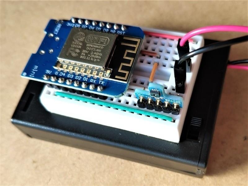 スマホで見れるIoT温湿度計制作講座(電池で約半年!間欠動作編)の画像