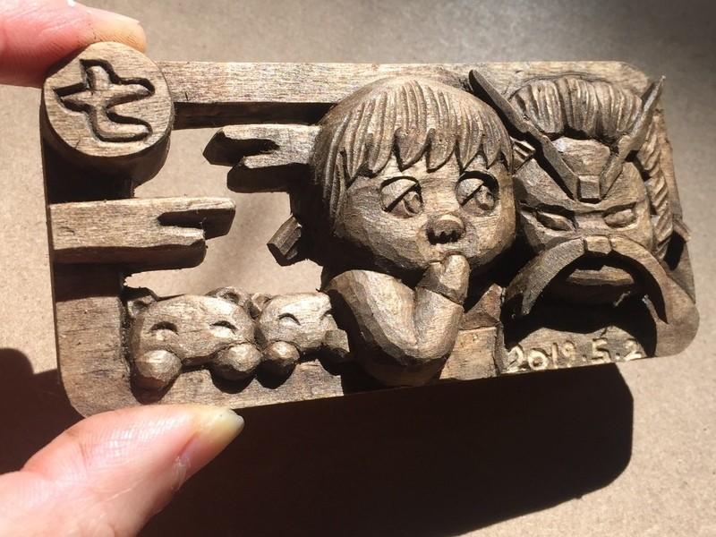 一笑仏で木彫りを楽しもう!(仏像彫刻・木彫り教室)の画像