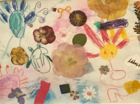 気軽に!押し花で癒されながら、 イラストを描いてみよう!in練馬の画像