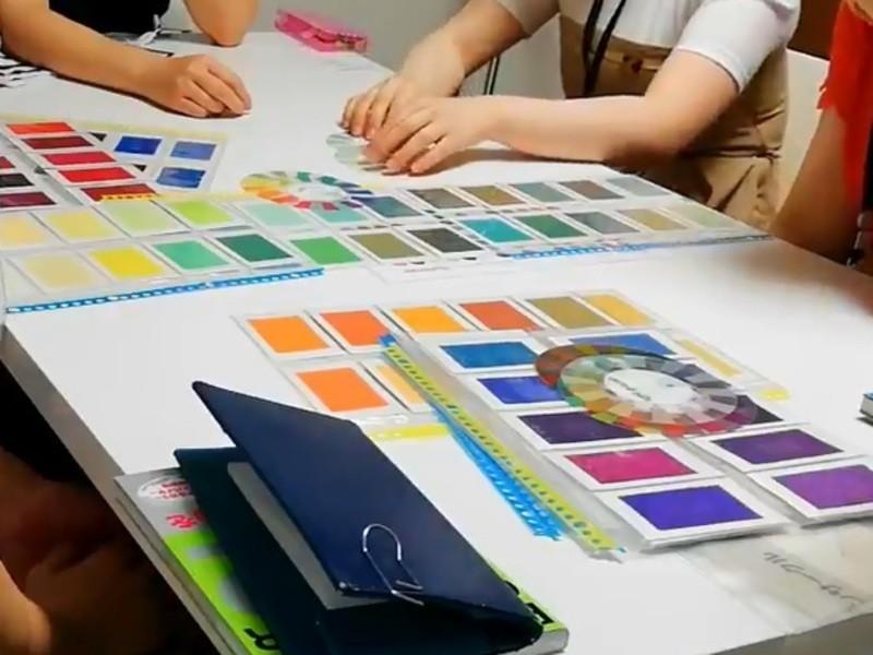 パーソナルカラー勉強会の画像