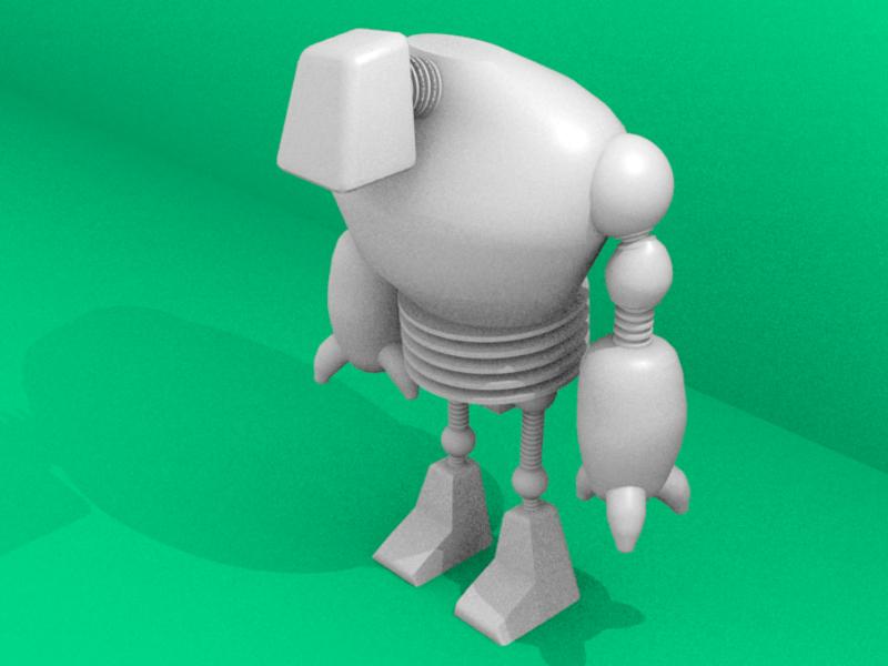 Blenderで3Dキャラクターをつくろう!の画像
