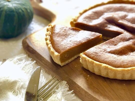 【季節のお菓子クラス】かぼちゃのパイの画像