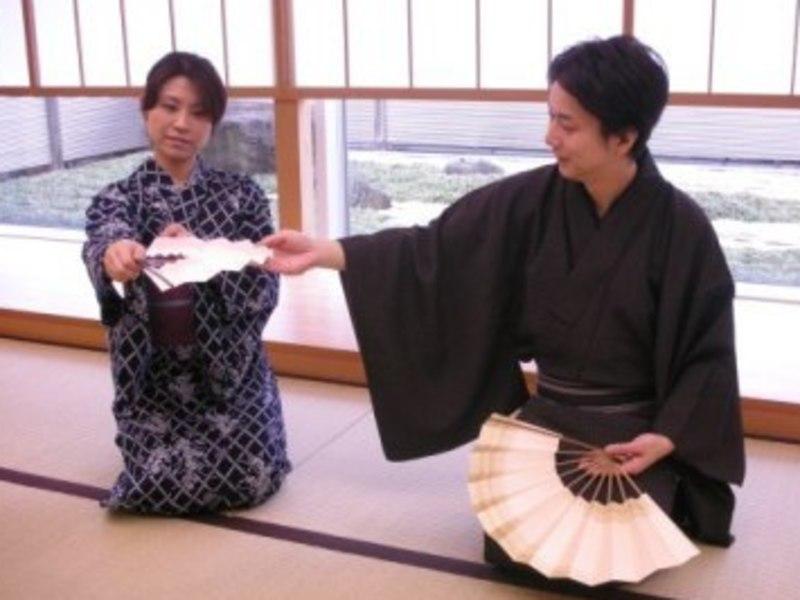 【銀座教室】日本舞踊・(着付け、立ち座り、お辞儀の仕方まで)月2回の画像