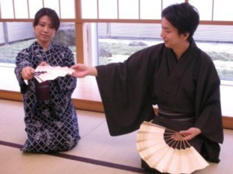 【竹ノ塚教室】日本舞踊(着付け、立ち座り、お辞儀の仕方まで)月2回の画像