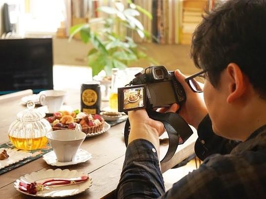 初心者の方へおススメ♪カメラの基本講座&テーブルフォトレッスンの画像