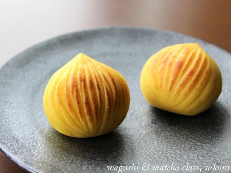 秋の和菓子3種「川もみじ」「栗きんとん」「焼き栗」で秋を味わおう!の画像