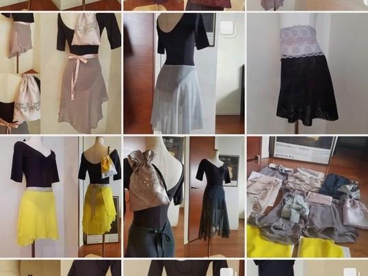 世界にたったひとつのバレエの巻きスカートを作ろうの画像