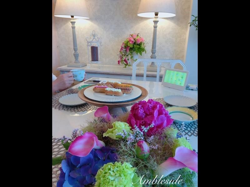 初心者向け お花のある暮らし 〜花瓶とお花の選び方講座〜 の画像