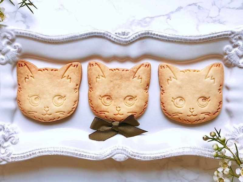 ネコのクッキー缶レッスンの画像