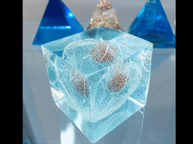 インアリウム フリー講座 カチカチに固まる二液性レジン講座の画像