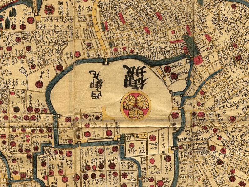 英語で「皇居と江戸城」を説明しよう!の画像
