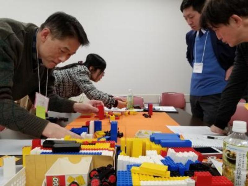 レゴブロックでモノづくり!楽しみながら学ぶ、儲けのコツ!!の画像