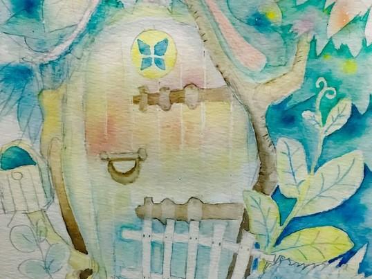 1時間半で世界に一つだけの水彩画を描きましょうの画像