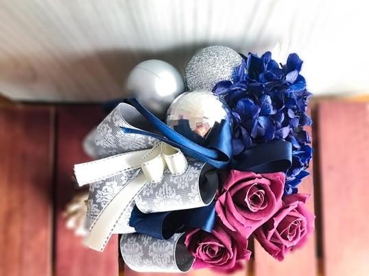 【大塚徒歩3分】winter gift♡フラワーアレンジ〜tea付の画像