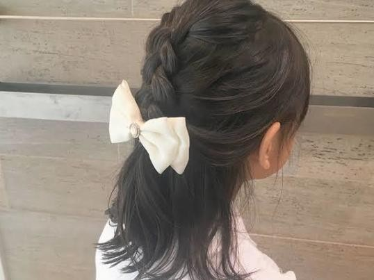 不器用ママでもOK☆お子様同伴で学べるキッズヘアアレンジ講座☆の画像