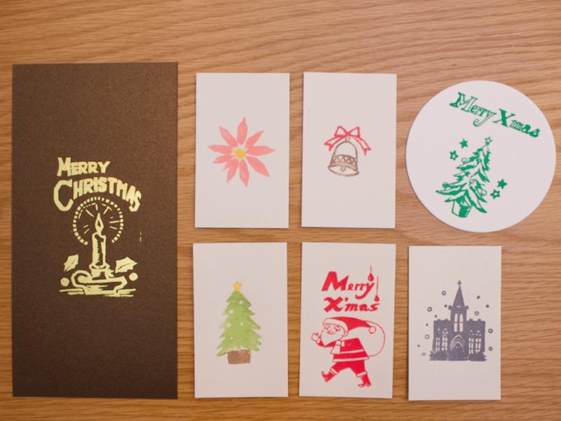 凸版でクリスマスカードをつくろう@神田の画像