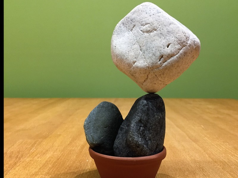 ロックバランシングの宅積み用♪オリジナル「石花キット」を作ろう!の画像