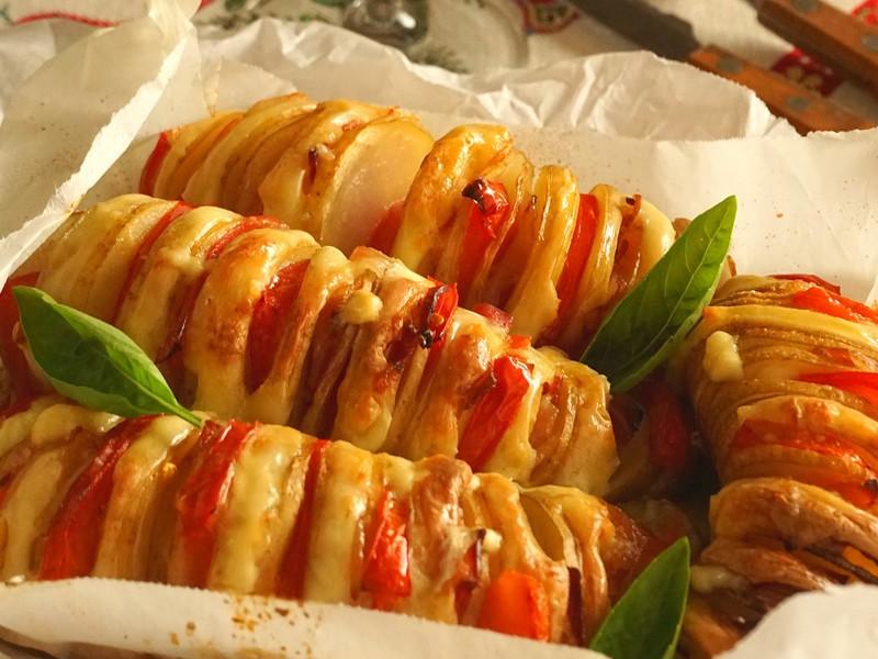 12月メニュー クリスマス料理 ~薪ストーブで焼くピッツァ~の画像
