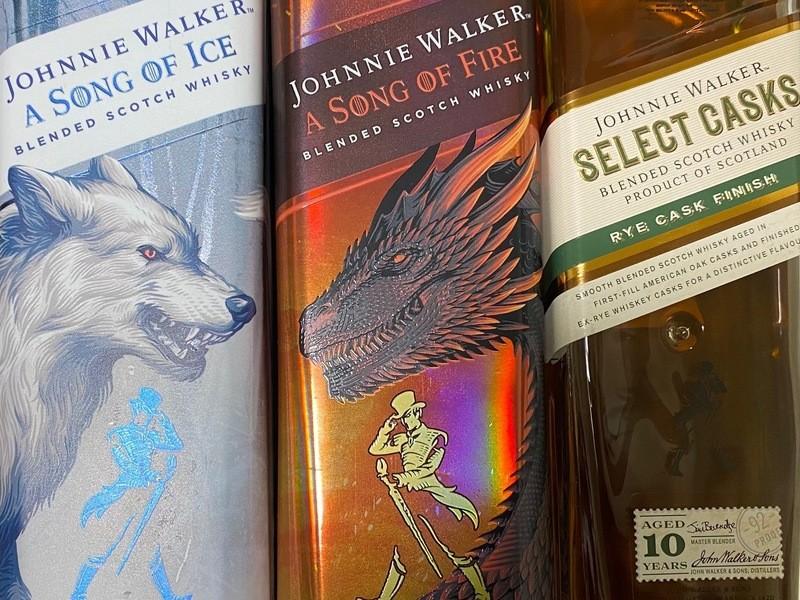 「ジョニーウォーカー」コレクションを愉しむ【ウイスキー特別講座】の画像