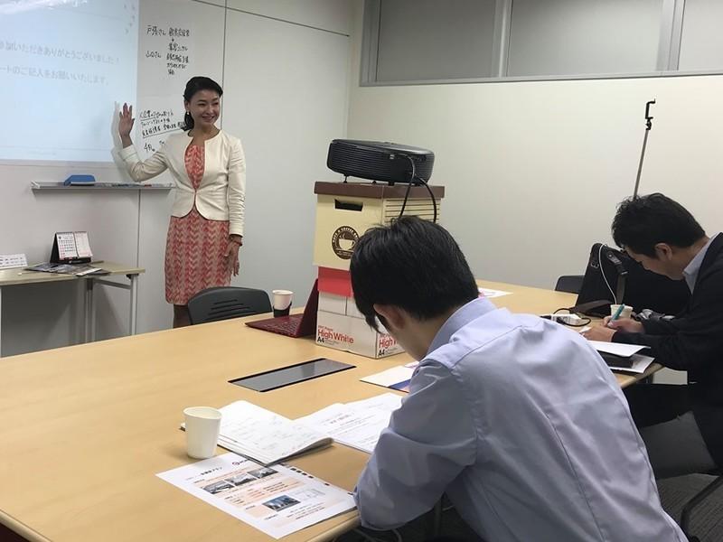 企業研修講師の営業術セミナーの画像