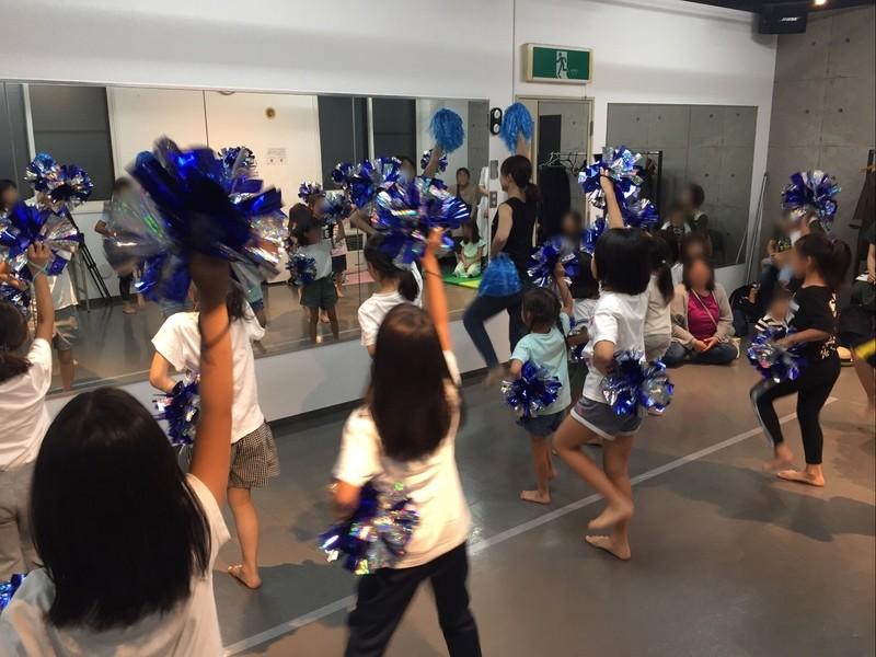 走って!踊って!アクロバットして!ポンポンダンス部体験レッスンの画像