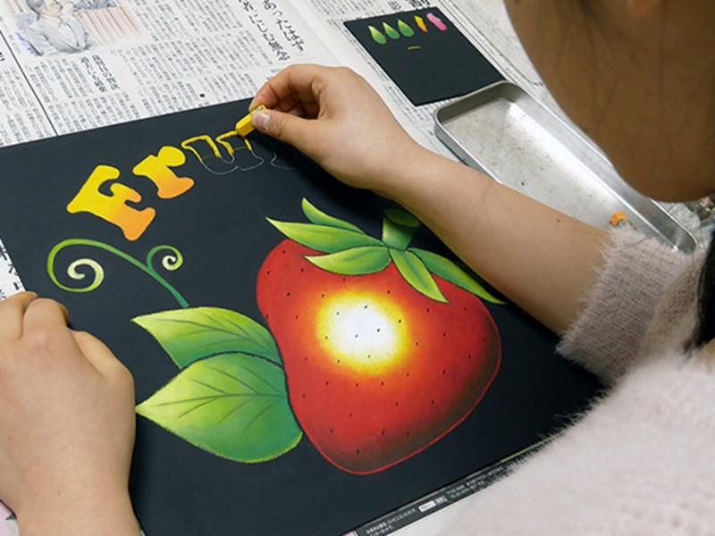 ☆初めてでも簡単!基礎から学ぶチョークアート教室☆【大阪・豊中】の画像