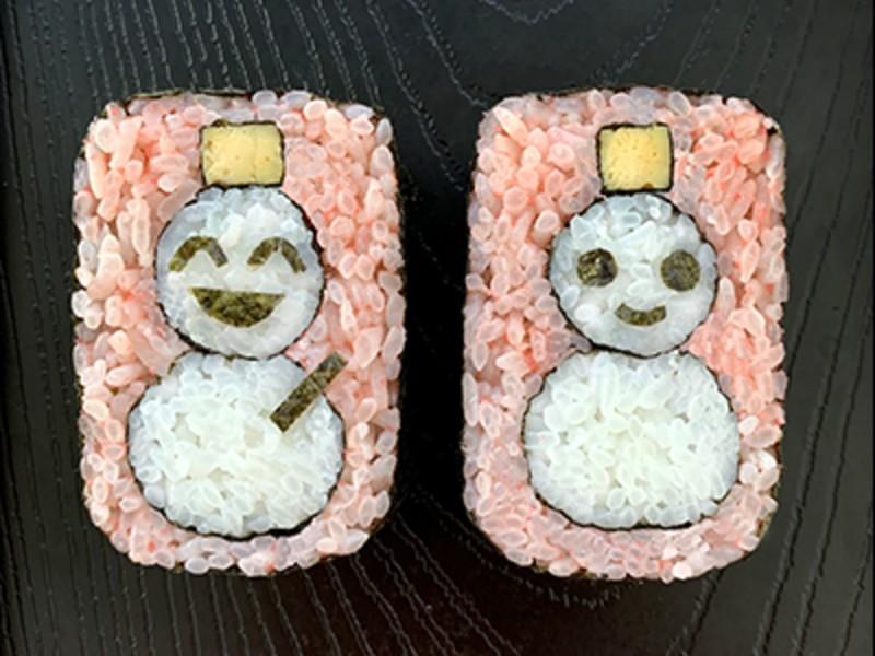 食卓が映える!男の子が喜ぶメニュー、可愛い巻き寿司を作るの画像