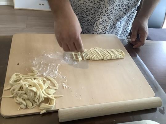 沖縄産オーガニック小麦で、沖縄そばを手打ちで作って味わおう♪の画像