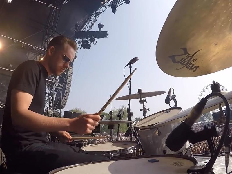 【日本上陸】UK ROCK最前線で活躍、ジャックのドラムクリニックの画像