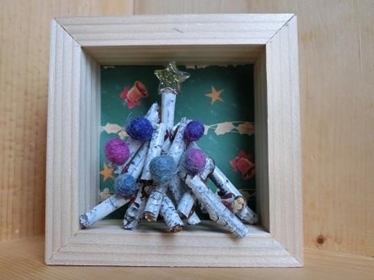 手作り小箱 x クリスマスの飾りつけ!の画像