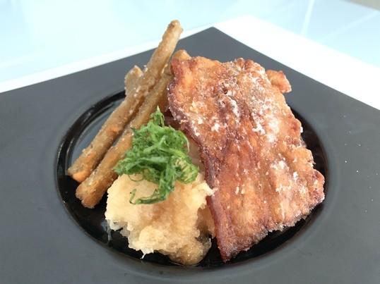 最強ご飯の供!銀鱈かす漬け&豚とごぼうのカリカリ揚げ!お汁粉も♪の画像
