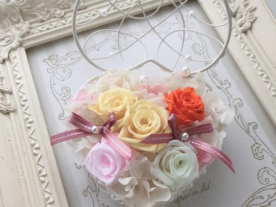 癒し&女子力UP♡プリザーブドフラワーアレンジレッスンの画像