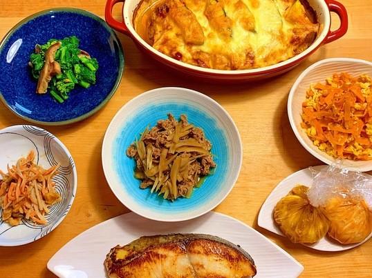 和食キッチンしのぶの《作り置きレッスン⑤》旬の作り置きの画像
