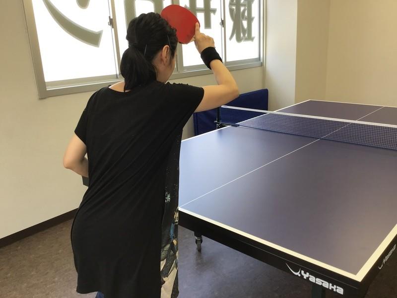お仕事帰り女性のための卓球入門コース【未経験者コース】の画像