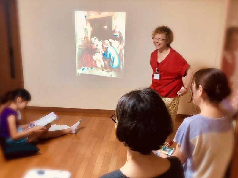 【小学生向け】自ら考える力が身に付く 「アートを観て話そう!」の画像