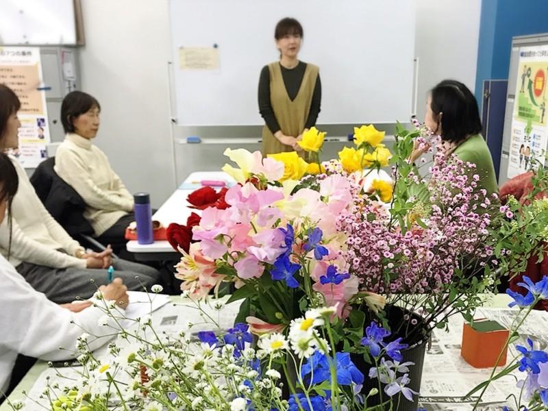 ☆お花とこころの繋がり☆フラワーアレンジメントセラピーの画像