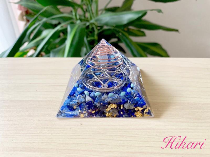 幸せを引き寄せるピラミッド型紙作り ※オンライン講座も可能ですの画像