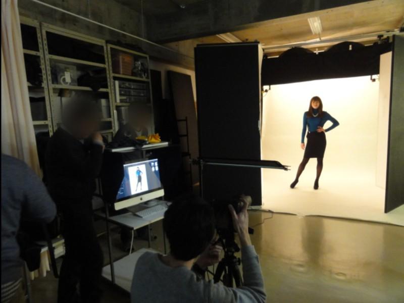 ポートレート撮影コース1-5 ライティングパターン、バリエーションの画像